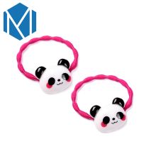 M MISM 1 Pair Fashion Lovely Hair Accessories Gum For Character Children Girls Elastic Bands Ponytail Holder Scrunchy