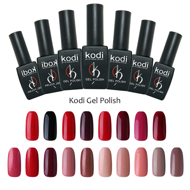 kodi professional gel nail polish art polish nails poly gel uv nail ...