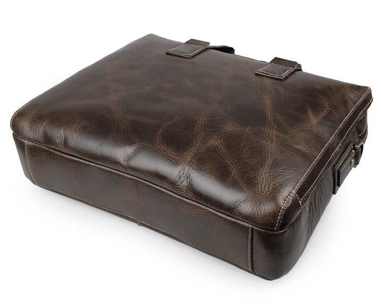 Leder Echt Taschen Coffee 7167c Jmd Männer Laptop Versand 1 Kostenloser Aktentasche 100 Handtasche zqt7IOnO