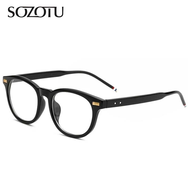 Οπτικά γυαλιά οράσεως Άντρες υπολογιστή Γυαλιά ηλίου μάρκας προβολέων για αρσενικό διαφανή Armacao de YQ137