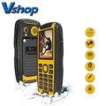 КЕН XIN ДА Проверки W3 Телефон IP68 Водонепроницаемый Противоударный Пылезащитный 2.2 дюймов Поддержка Bluetooth FM Dual SIM 2000 мАч Батареи