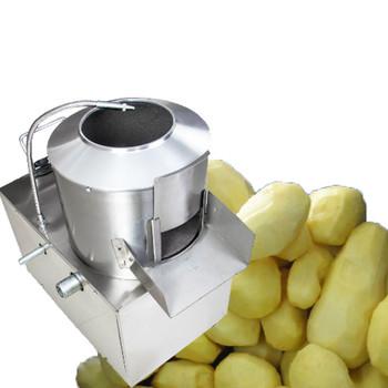 Jamielin elektryczny wysoki wydajność obieraczka maszyna do obierania ziemniaków obierak do ziemniaków z funkcją czyszczenia tanie i dobre opinie STAINLESS STEEL 220 v BEIJAMEI 750W QH-350 potato peeling machine 220V 240KG H 30cm 1P * 1 290* 370mm 650*400*800mm