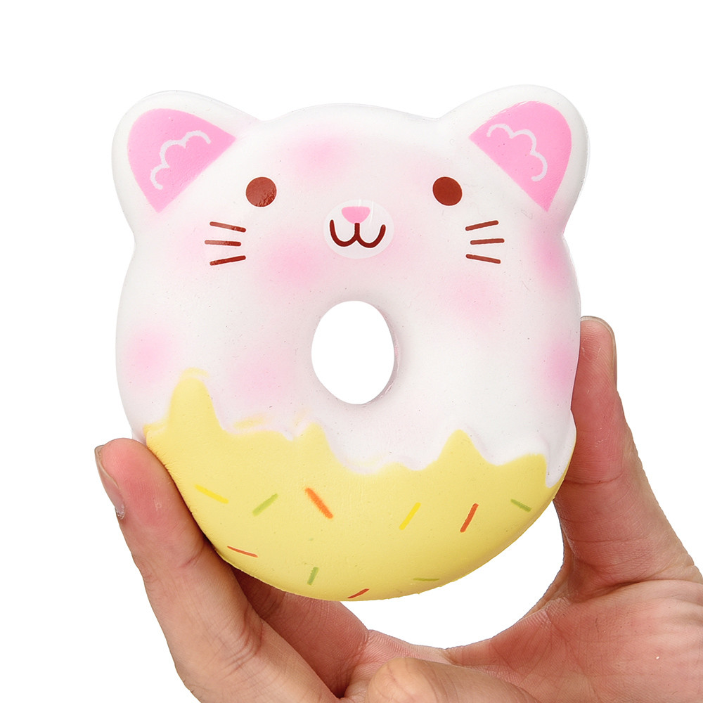 HIINST Squishies Cute Panda Cream Scented Slow Rising Stress Relief Toy Whoopee Cushion Jokes Pranks Trick Mar2 W20d40