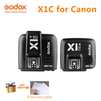 Godox X1C E TTL 2 4G Wireless Radio Camera Flash Trigger Transmitter Receiver For Canon EOS