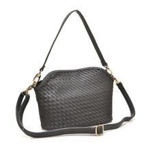 Knitting Split Leather Bag Women Shoulder Bags Crossbody Bags for Women Messenger Bags High-grade Bolsos Free Shipping