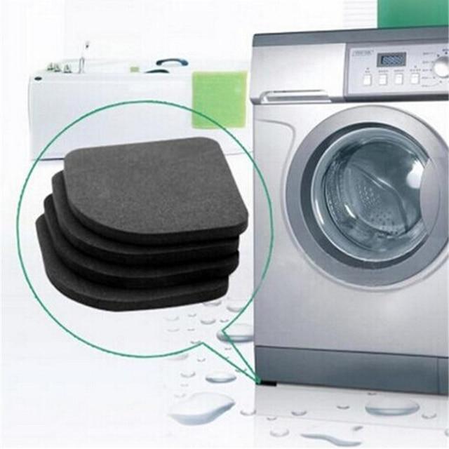 4pcs Washing Machine Shock Pads Non-slip Mats Refrigerator Shock Pad HOME bathroom tool