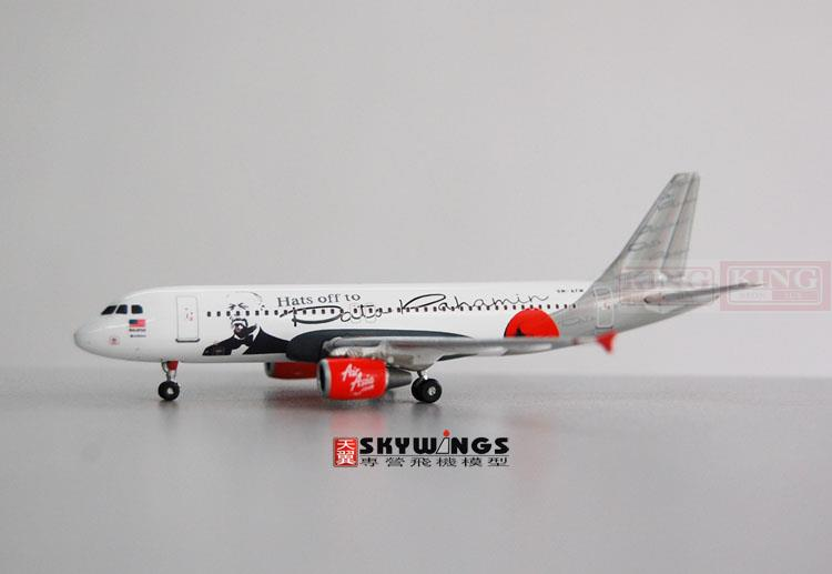 Phoenix 10417 Asian aviation 9M-AFM 1:400 A320 commercial jetliners plane model hobby