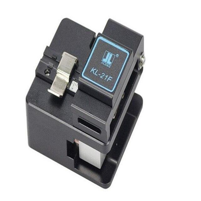 FTTH инструменты Волоконно-Оптические станки Цзилун KL-21Ф Волокна нож, тесак холодной обжимной инструмент Оптического волокна нож для разрезания