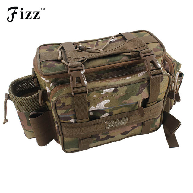 Outdoor Camouflage Fishing Tackle Box Container Shoulder Bag Oxford Cloth Fishing Accessories Waist Bag Fishing Tool  sc 1 st  AliExpress.com & Outdoor Camouflage Fishing Tackle Box Container Shoulder Bag ... Aboutintivar.Com