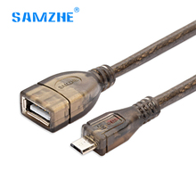 Samzhe Micro USB OTG To USB 2.0 adapter Converter OTG Cable for samsung xiaomi mobile phone Tablet Pc to U disk Mouse Keyboard