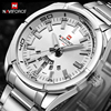 NAVIFORCE Luxury Brand Quartz Watches Men Full Steel Sports Watch Reloj Hombre Army Military Wristwatch Relogio