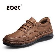 למעלה איכות טבעי עור גברים מגפי רטרו סגנון עמיד למים גברים נעלי פלטפורמת ללבוש התנגדות גומי קרסול עבודה מגפי נעליים