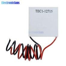 TEC1-12703 12705 12706 12709 12710 12712 12715 SP1848-27145 12V 5A Células Peltier Termoelétrica Refrigerador Peltier Elemente Módulo