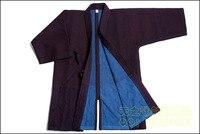 Наивысшее качество Темно синие ручной сшитые 1.0bu Кендо kendogi с hidritex Бесплатная доставка
