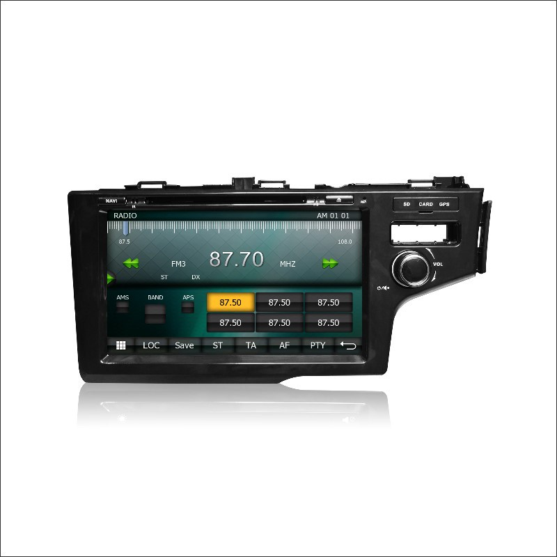 Para honda fit/jazz rhd 2014 ~  car radio cd reproductor de dvd amplificador de