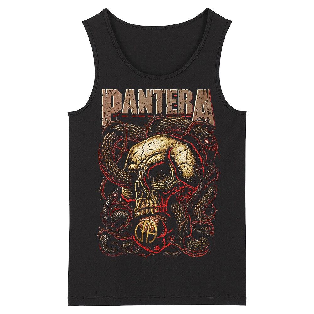 Bloodhoof Pantera Death Metal Thrash Metal Men's Tank Tops Asian Size