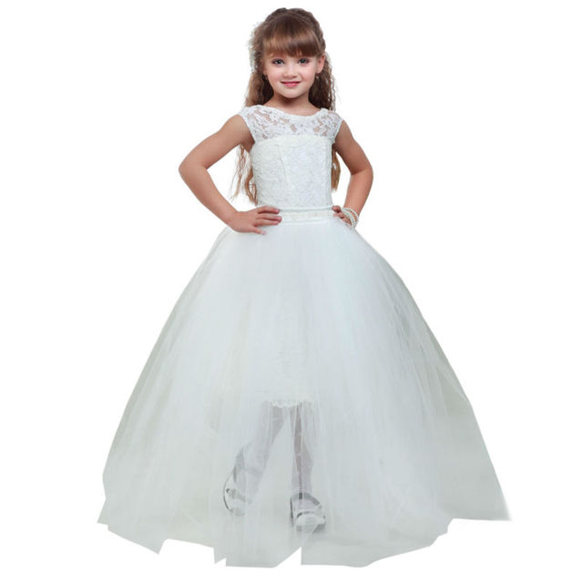Ballkleid Blume Mädchen Kleider Für Hochzeit Kleider Kids ...
