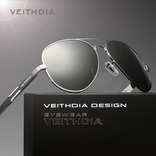 VEITHDIA Aluminum Magnesium Alloy Brand Polarized Mens Sunglasses Sun Glasses Accessories Eyewear Male For Men oculos 6695