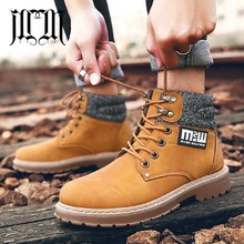 MUMUELI Black Khaki Brown Yellow Leather 2019 Designer Casual Luxury Men Shoes High Top Quality Fashion Brand Male Boots 7825 2017 new arrival high quality genuine leather luxury brand summer men casual shoes breathable holes black brown khaki