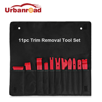 Urbanroad 11Pcs Car Auto Trim Removal Tool Kit Set Door Clip Panel Trim Dash Audio Removal