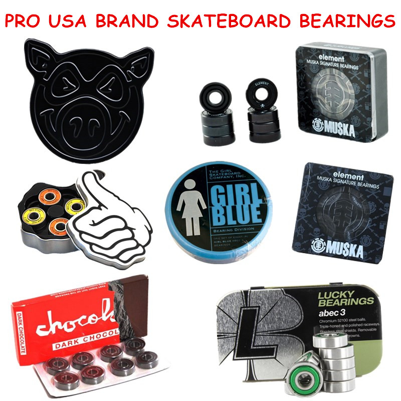 Skateboard Bearings Skate Bearing ABEC-5/ABEC-3/Ceramic Speed Skating Skateboarding Longboard Bearings