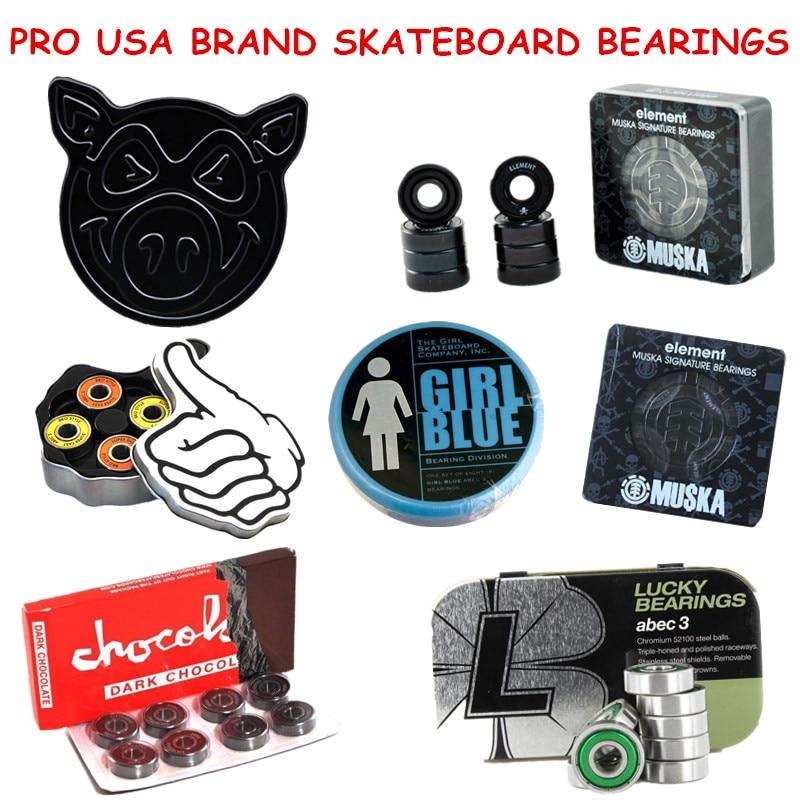 Skateboard Bearings Skate Bearing ABEC-5/ABEC-3/Ceramic Speed Skating Skateboarding Longboard Bearings