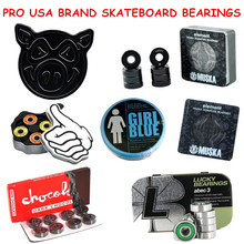 Skateboard Bearings Skate Bearing ABEC 5/ABEC 3/Ceramic Speed Skating Skateboarding Longboard Bearings