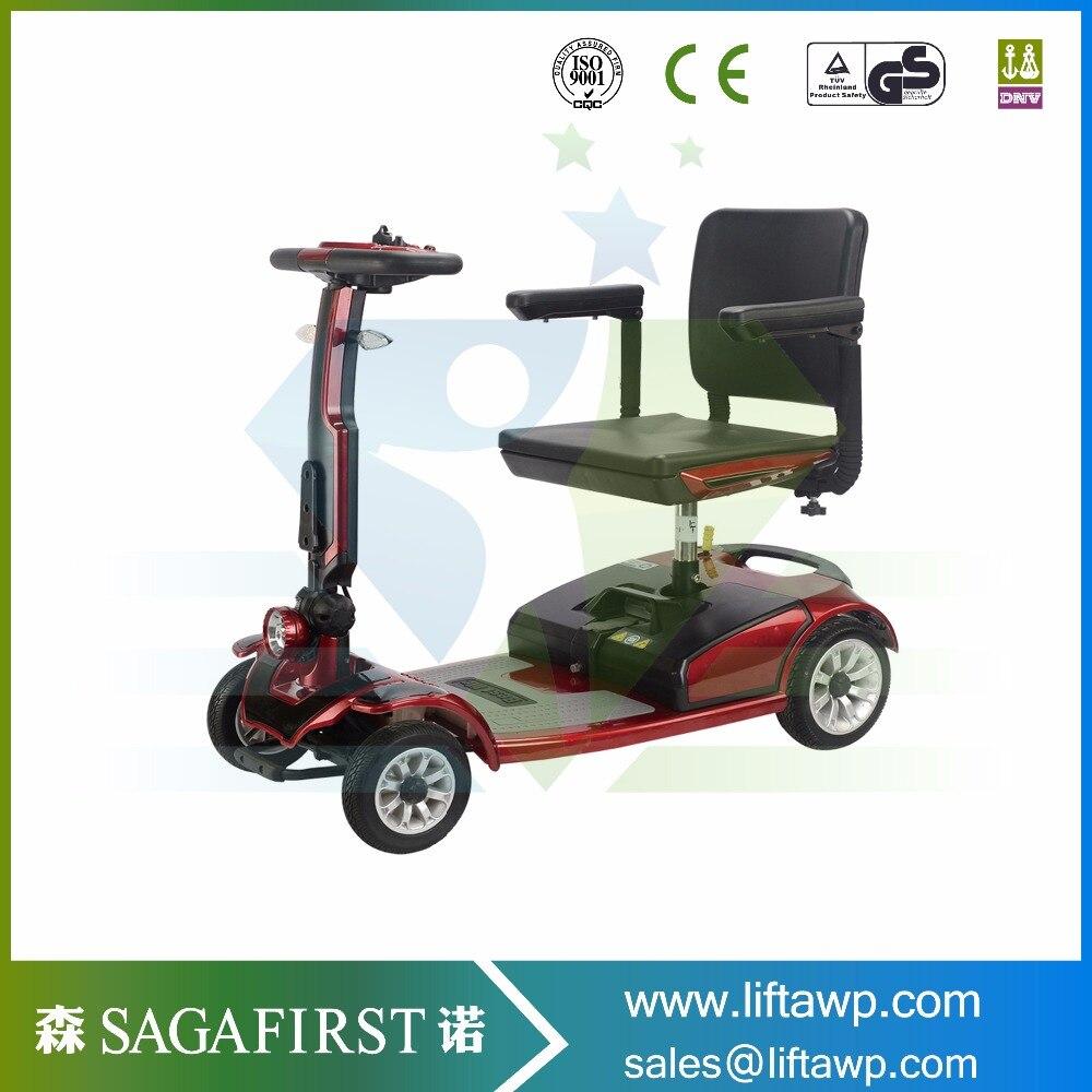Четыре колеса мобильности скутер для старика инвалидов ...