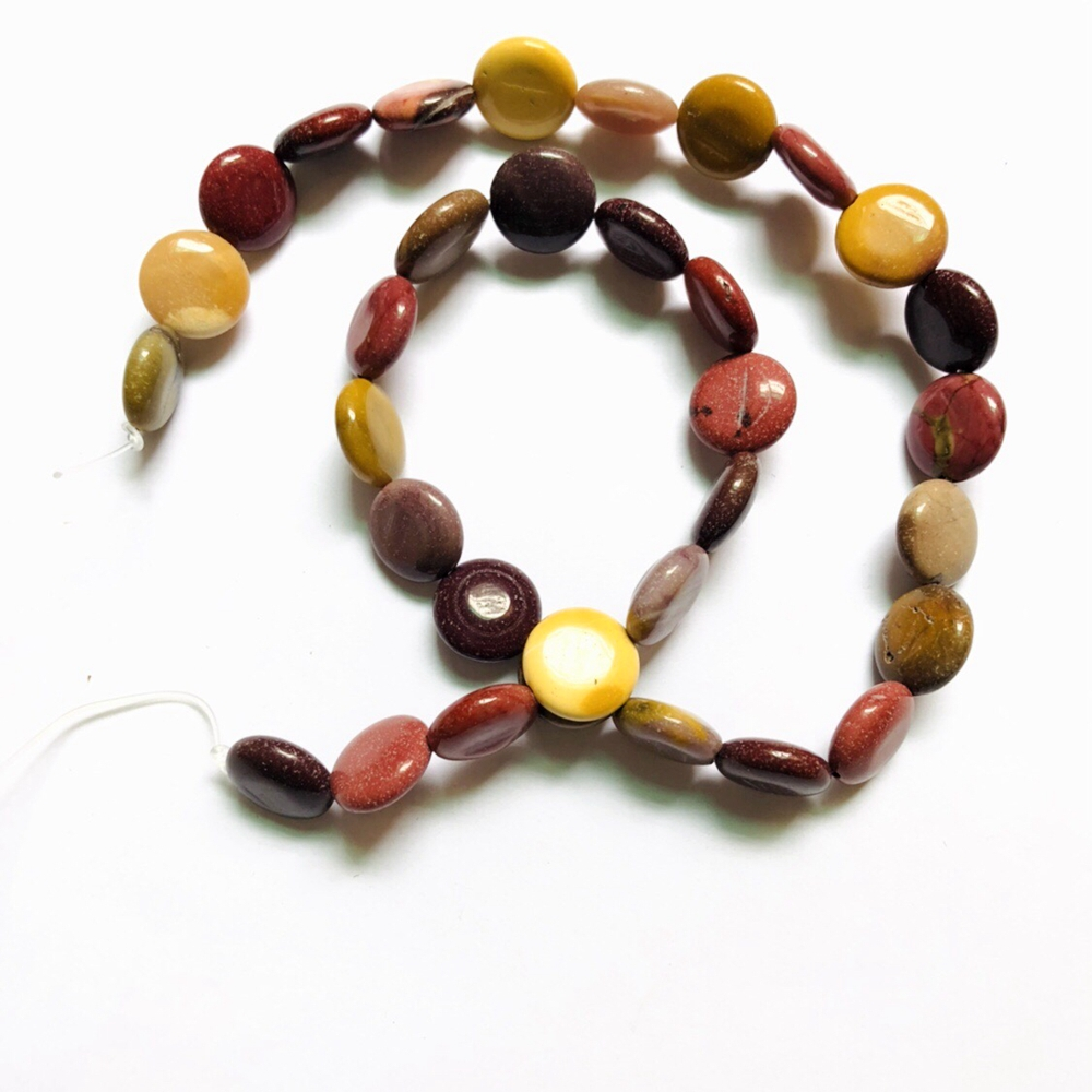 Natural Mookaite gem stone loose beads 12mm coin Beads genuine stone jewelry making Beads 5strings lot