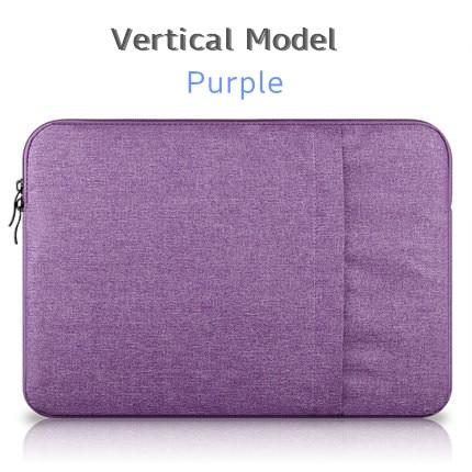 """Брендовый чехол aigreen для ноутбука 1"""", 13"""", 1"""", 15, 15,6 дюймов, сумка для Macbook Air Pro 13,3"""", 15,"""", Прямая поставка - Цвет: Vertical Purple"""