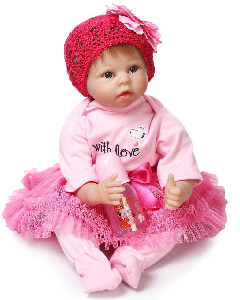 22 inch Soft Like Silicone Reborn Baby Doll Lifelike Realistic Princess Newborn Babies Toys For Girls Gift Magnetic Dummy22 inch Soft Like Silicone Reborn Baby Doll Lifelike Realistic Princess Newborn Babies Toys For Girls Gift Magnetic Dummy