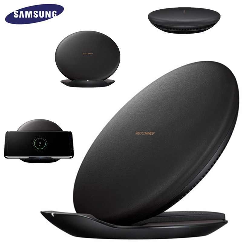 Samsung Fast Qi Wireless Charger For Galaxy S10 S9 S8 Plus S7 edge /iPhone 8 Plus X, 10W Fast Charging Pad EP-PG950 image