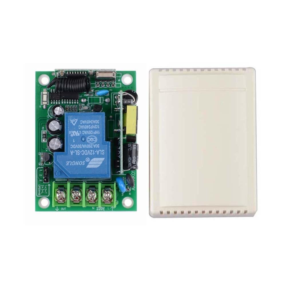 AC 85V 110V 220V 250V 3000W RF Wireless Remote Lighting Switch Without Transmitter For Smart Home