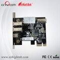 HighTek 1394A PCI-e tarjeta de vídeo, 4 puertos 1394A PCI-e card, tarjeta IEEE 1394