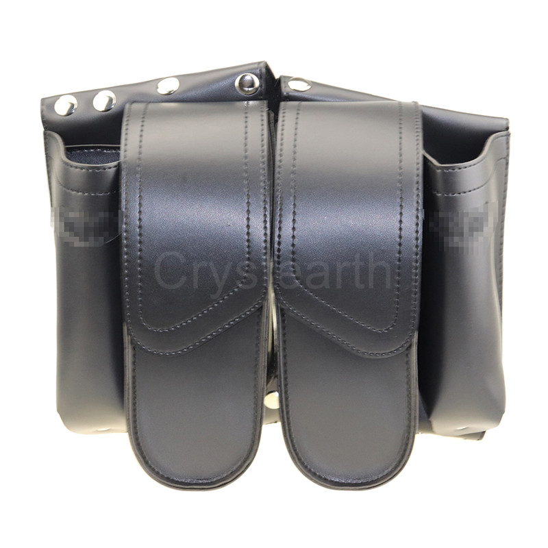 Motorcycle Left or Right Saddlebag Guard Bag Water Bottle Holder For 1993 later Harley Touring Electra