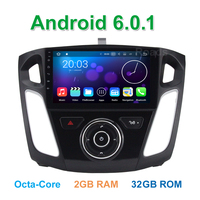 8 Octa Core Android 6.0.1 Car DVD Player for Ford Focus 3 2011 - 2017 with Bluetooth GPS WiFi Radio