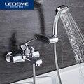 LEDEME Смеситель для ванны с коротким изливом латунб Цвет: хром L3259
