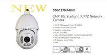 DAHUA Security IP Camera 2MP 30x Starlight IR PTZ Network Camera H.265 WDR IP66 without Logo SD6C230U-HNI