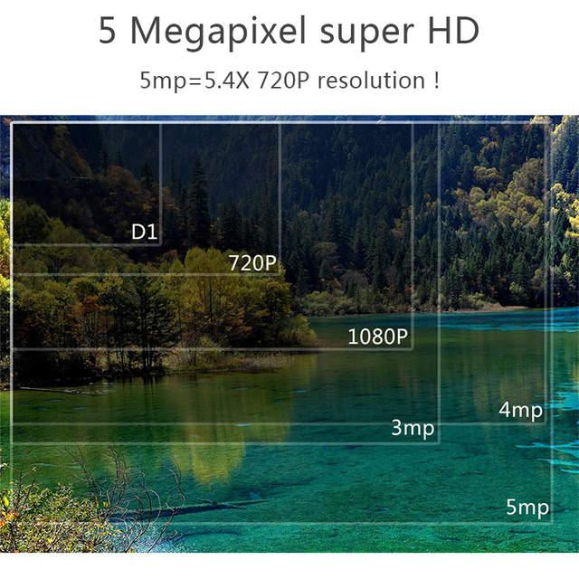 Heater inside# super 5mp ip camera ONVIF 1080 p full HD