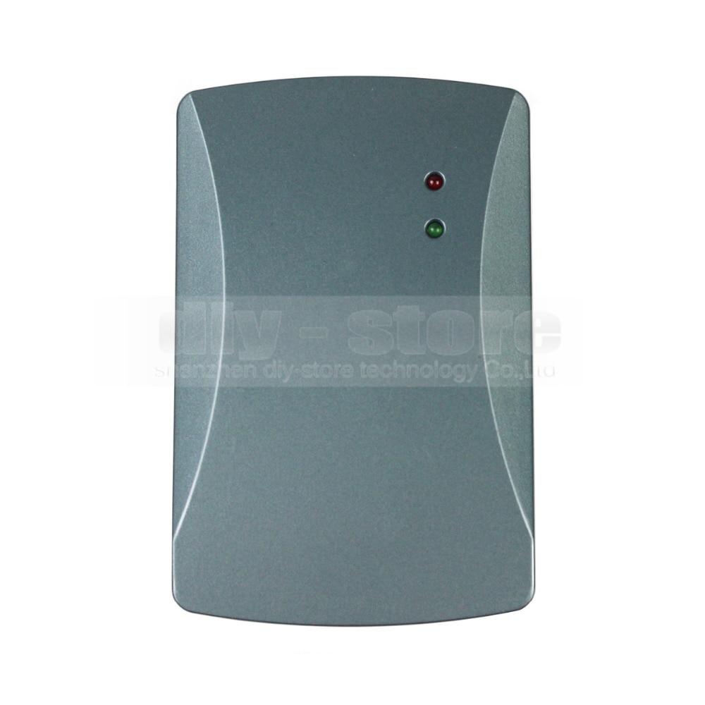 DIYSECUR Waterproof Door Access Control Reader Wiegand 26 RFID 125KHz ID Card Reader EM 4100 waterproof door access control reader wiegand 26 rfid 125khz id card reader em 4100 black 101a