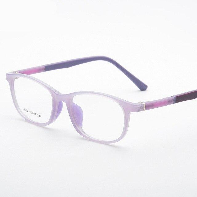 Rubber Leg Student Glasses Frame Children Myopia Prescription ...