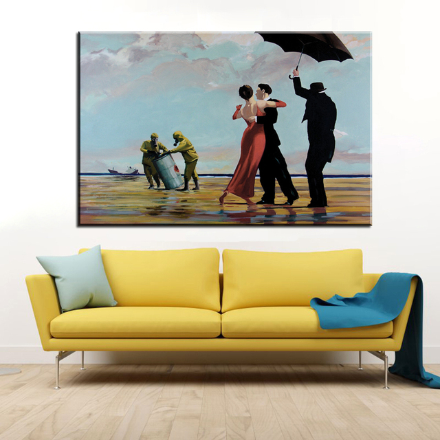 Enchanting Banksy Wall Art Canvas Image Collection - Wall Art ...