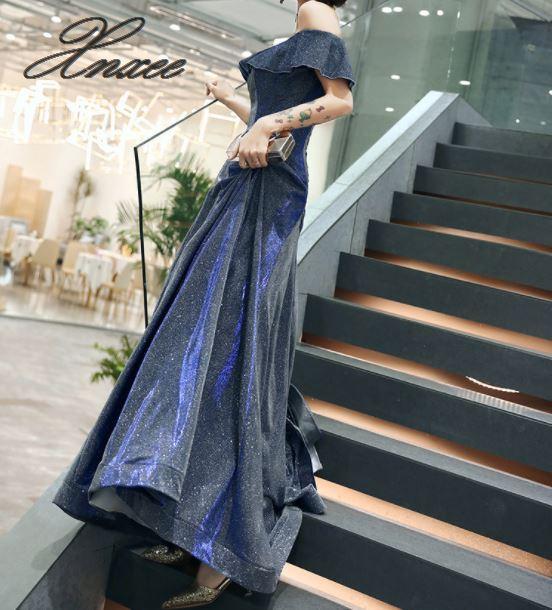 Dress female 2019 new banquet noble and elegant summer slim dress