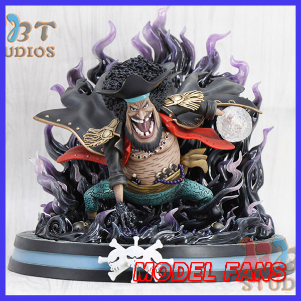 MODEL FANS instock one piece sd version 24cm Marshall D Teach Battle Stance gk resin statue Figure for Collection model fans jacksdo one piece 30cm boa hancock battle stance gk resin toy figure for collection