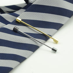 Модная мужская рубашка воротник остается Свадебные медный воротник остается рубашка металлический воротник бар зажим для галстука бар
