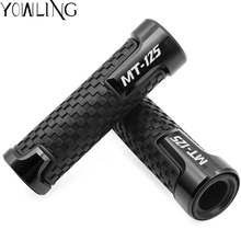 For YAMAHA MT125 MT 125 MT-125 2014 2015 2016 2017 2018 7/8 Motorcycle CNC Rubber Handlebar Hand Grips Bar End Gel Grip for yamaha mt 125 mt 125 mt 125 2014 2017 2015 2016 2017 motorcycle accessories handlebar ends cnc aluminum hand grips ends
