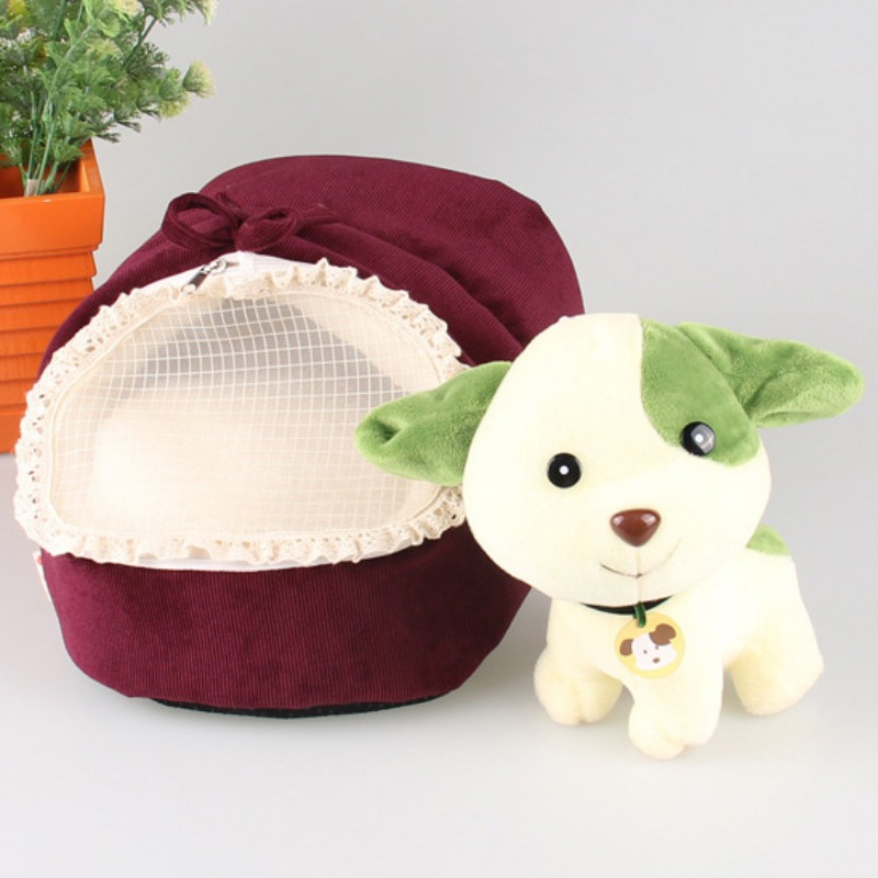 Cute Lovely Slipper Design Pet Cat Dog Princess Bed Nest Washable Small Dogs Warm House Kennel Dog Bed Multi Colors New