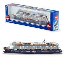Siku 1724 brinquedo/diecast modelo/1:1400 escala/mein schiff 3 navio civil de cruzeiro/para o presente do festival das crianças/coleção educacional