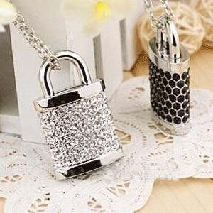 Jewelry Pen Drive 512GB Lock Crystal 128GB 16GB 32GB Usb Flash Drive 8GB Memory Stick Card Pendrive 512 GB Gift Gadget 64GB 2.0