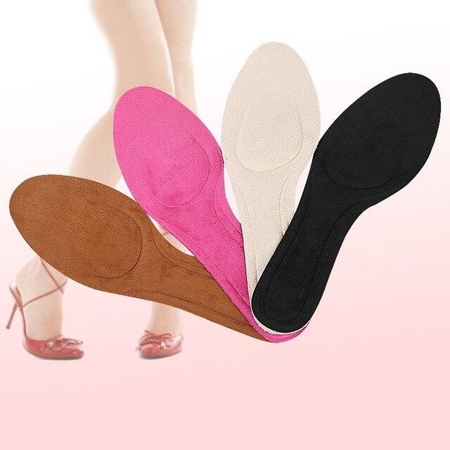 Spugna ultra-sottile sudore-assorbente sottopiede scarpe di cuoio delle signore sottolineato scarpe col tacco alto confortevole ammortizzazione pressione solette